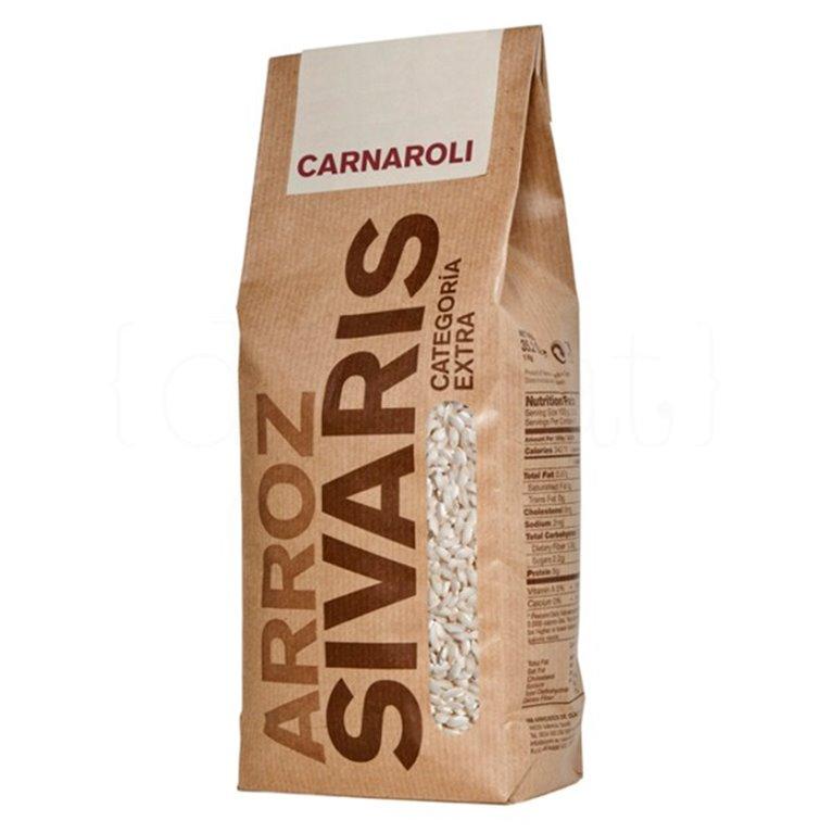 Arroz Carnaroli 1kg. Sivaris. 6un., 1 ud