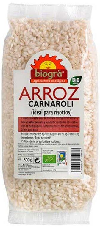 Arroz Carnaroli (Ideal para Risottos) Bio 500g