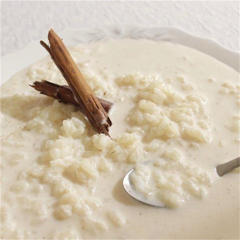 Arroz con leche casero (2 raciones)