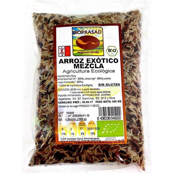 Arroz Salvaje Mezcla Exótico Bio 500g