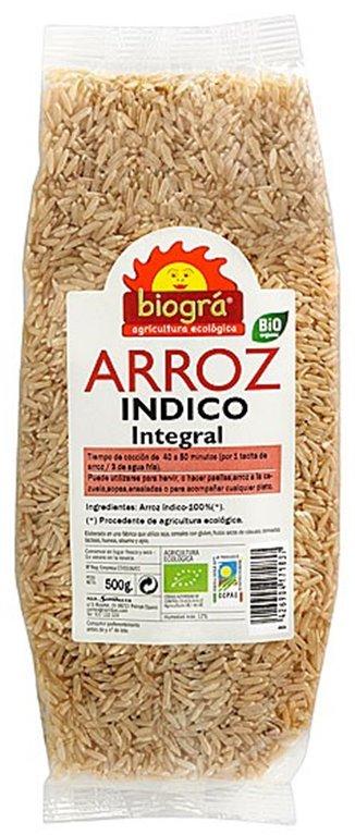 Arroz Índico Integral Bio 500g