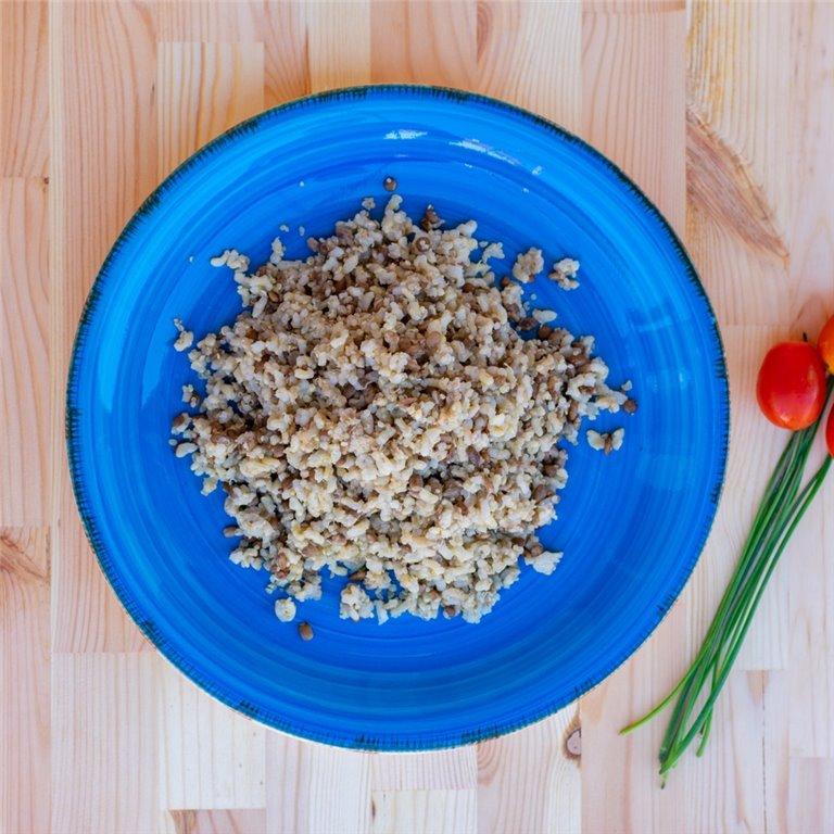 Arroz integral con lentejas verdes y quinoa, 1 ud