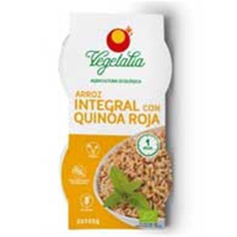 Arroz Integral con Quinoa roja Vegetalia 500g