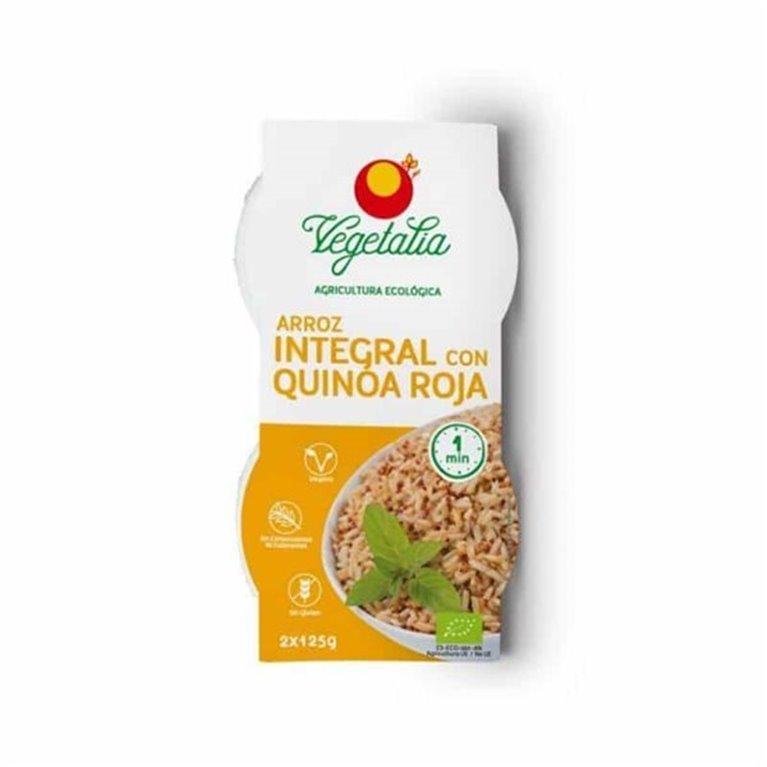 Arroz integral con quinoa roja 2x125g