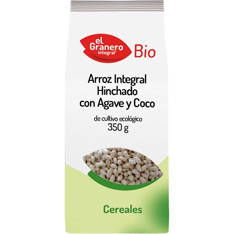 Arroz Integral Hinchado con Agave y Coco Bio 350g