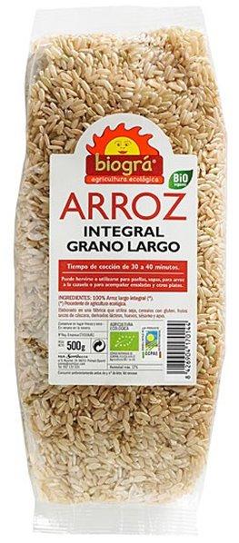 Arroz Largo Integral Bio 500g