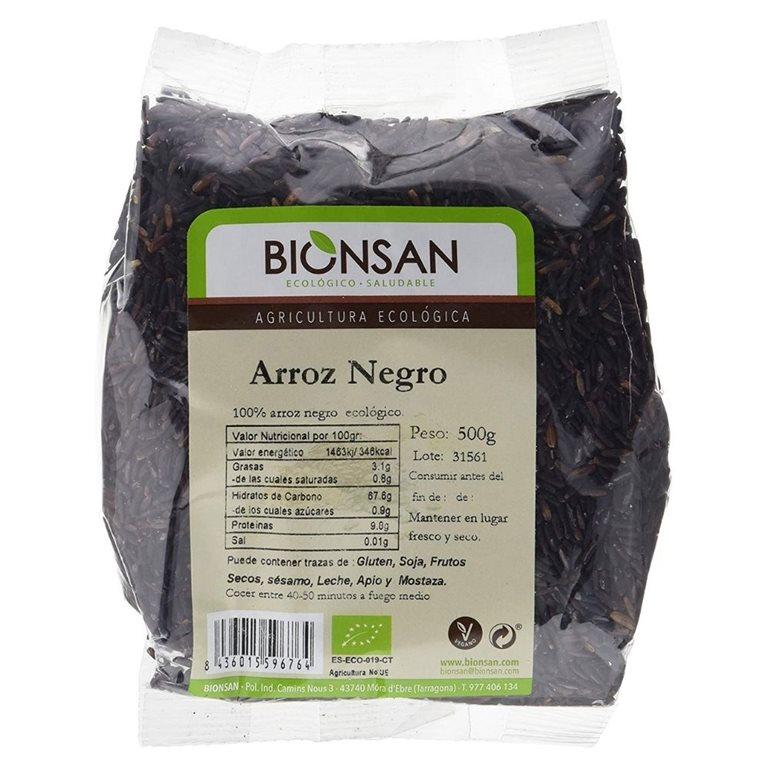 Arroz negro ecológico -500gr