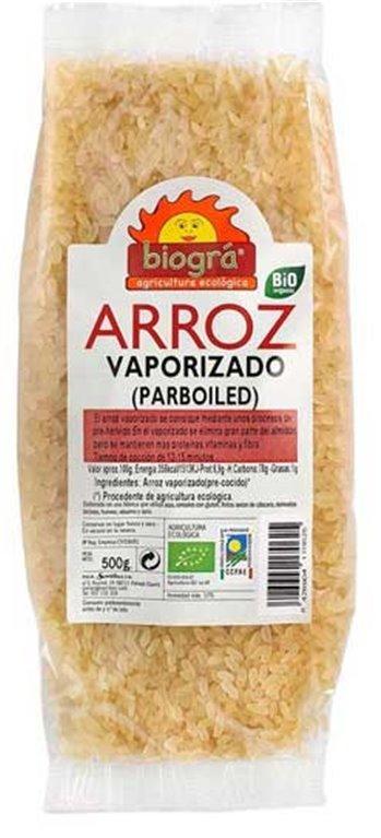Arroz Parboiled (Vaporizado) Bio 500g, 1 ud