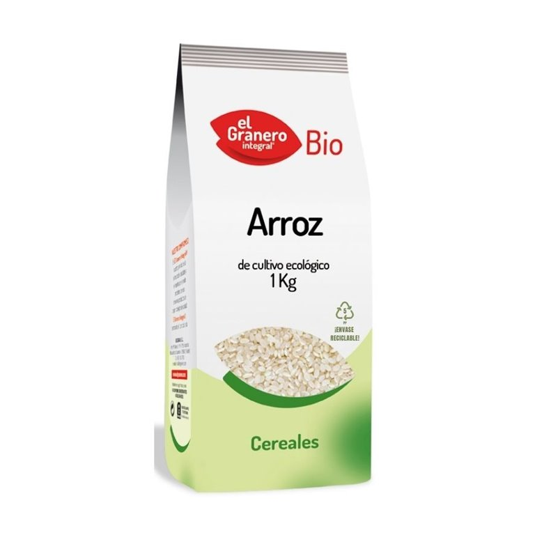 Arroz Redondo Blanco Bio 1kg
