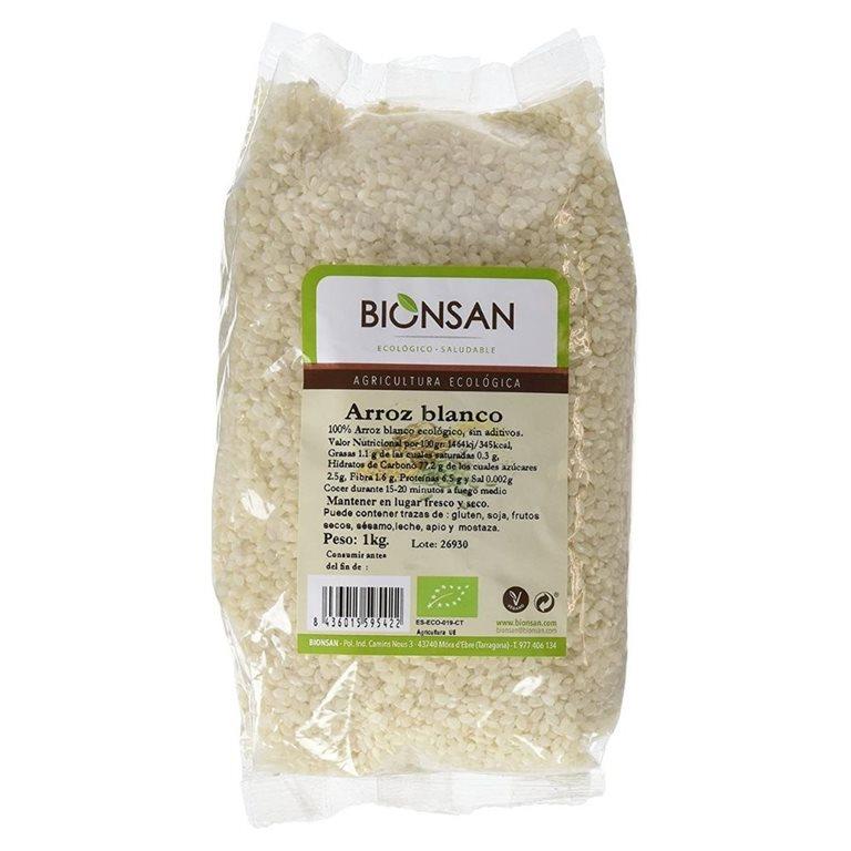 Arroz redondo blanco ecológico -1kg
