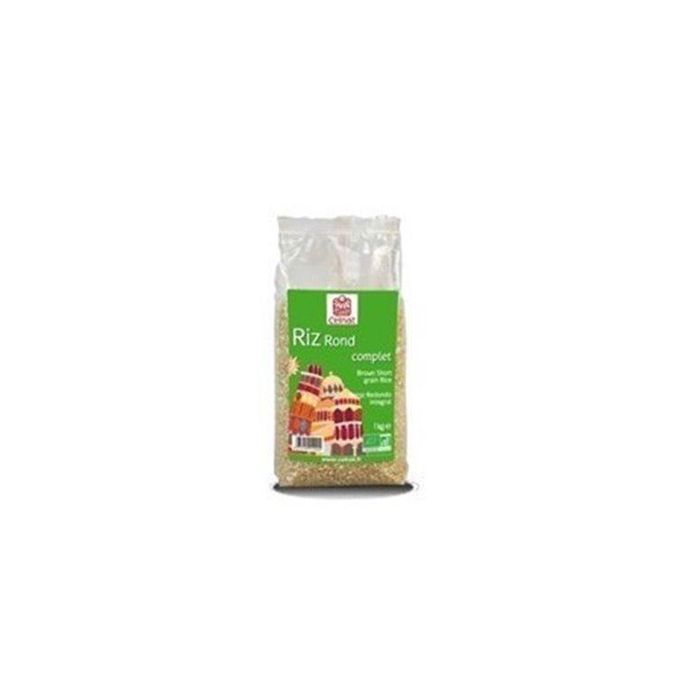 Arroz Redondo Integral, 1 kg