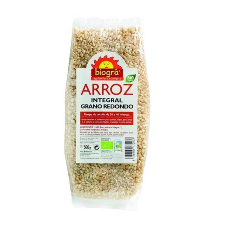 Arroz Redondo Integral Bio 500g