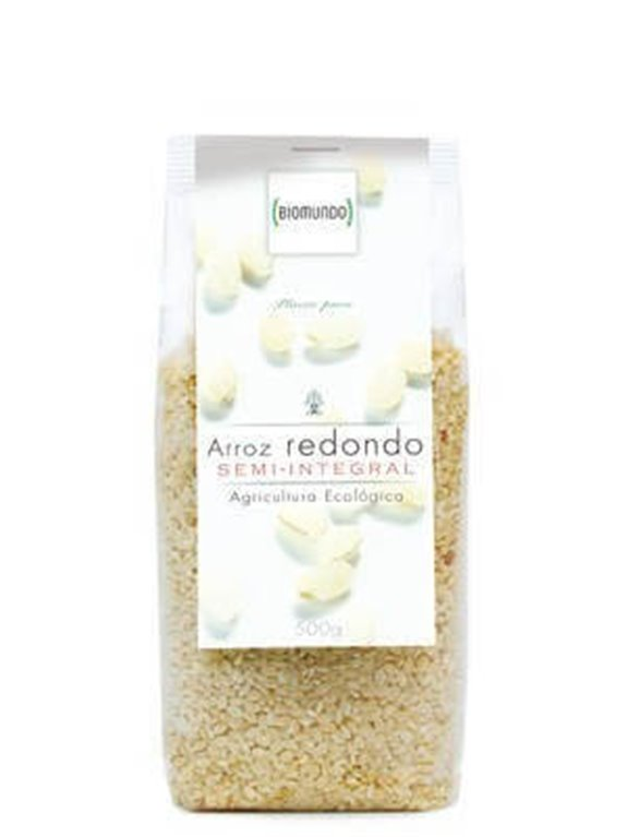 Arroz Redondo Semi-Integral, 500 gr