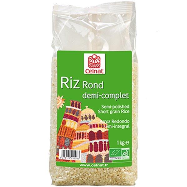 Arroz Redondo Semi-Integral Bio 1kg