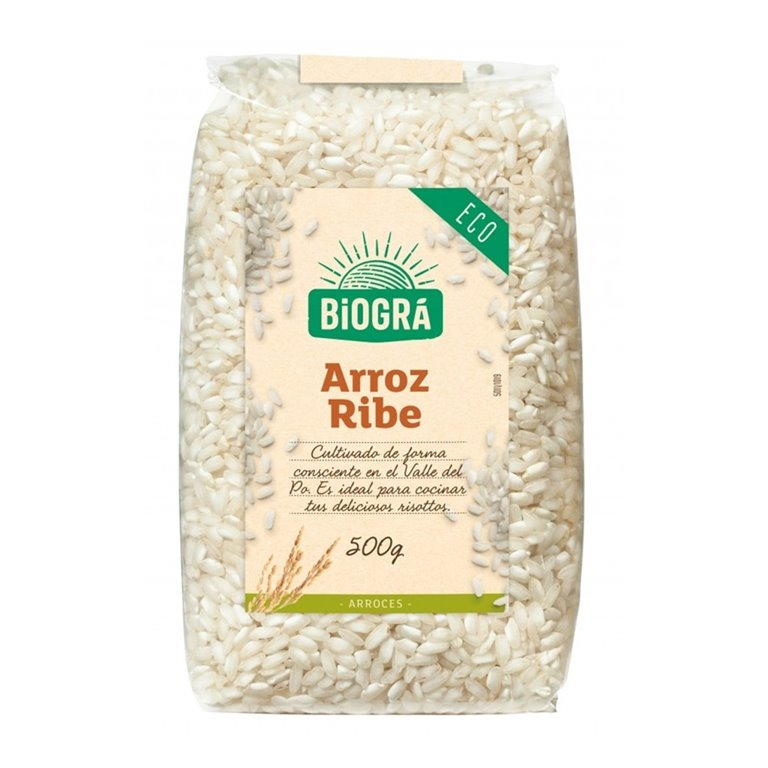 Arroz Ribe (Ideal para Risotto) Bio 500g