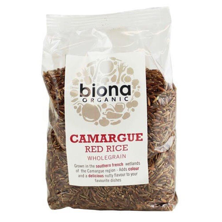 Arroz rojo camargue 500 g - Biona