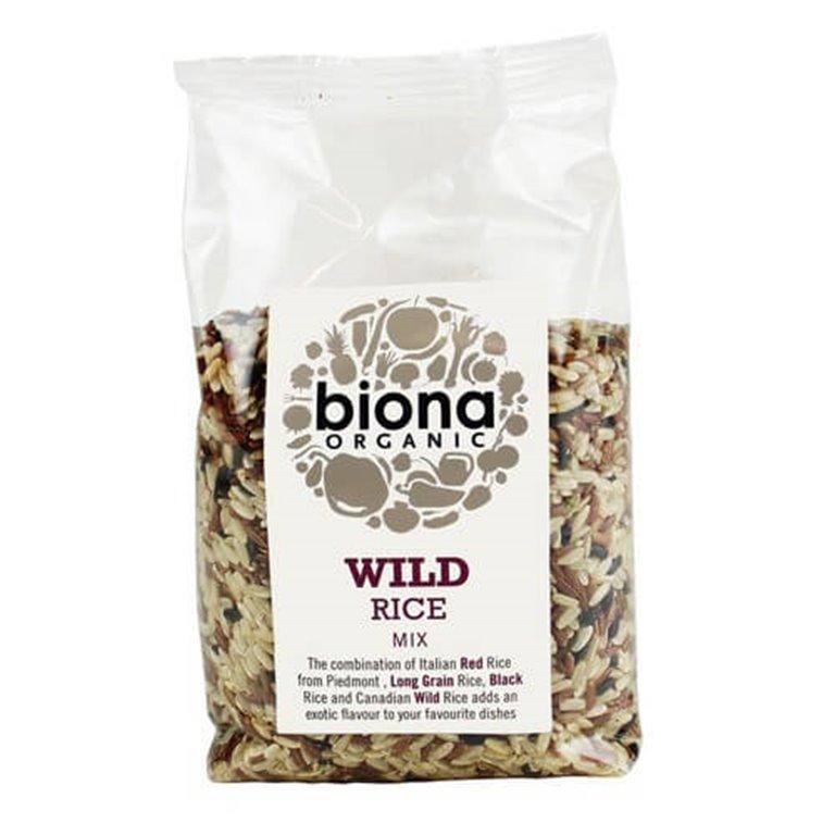 Arroz salvaje mezcla 500 g - Biona