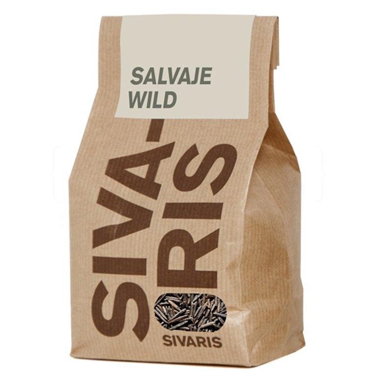 Arroz Salvaje (papel kraft) 500gr. Sivaris. 6un., 1 ud