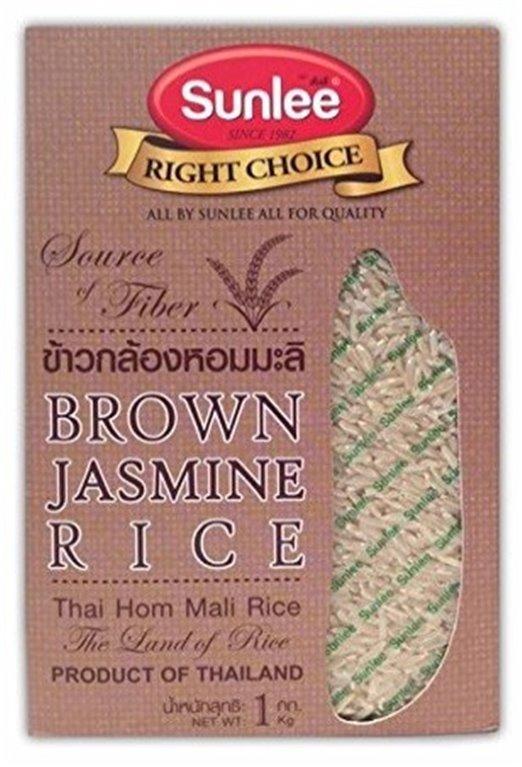 Arroz Thai Jazmín Integral 1kg, 1 ud