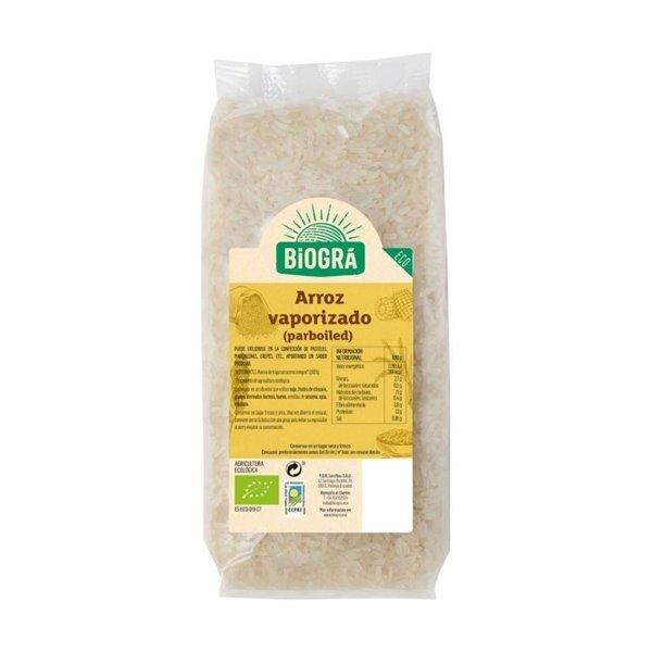 Arroz Vaporizado Parboiled Bio 500g