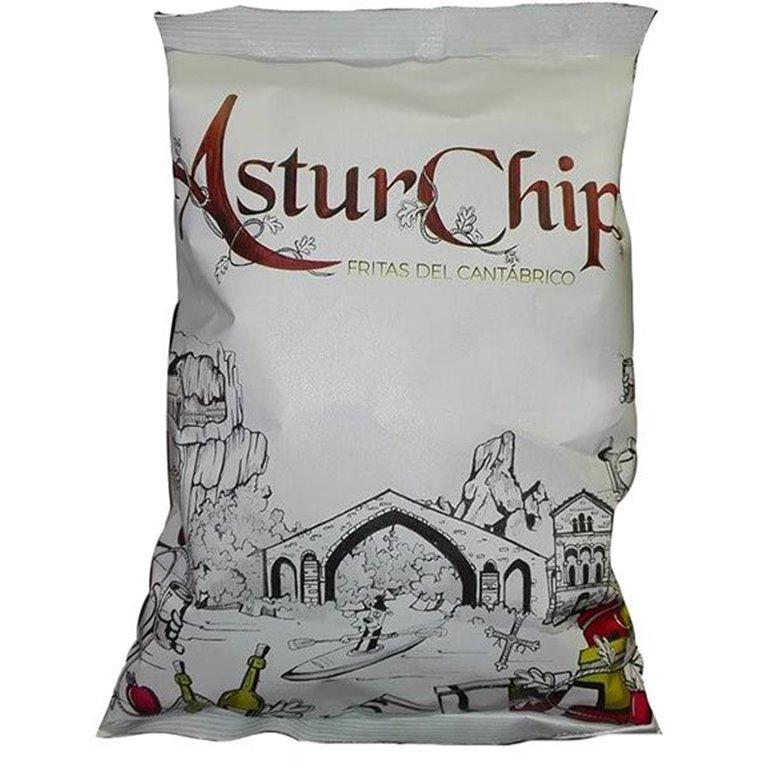 AsturChips - Patatas Fritas de Asturias 120gr
