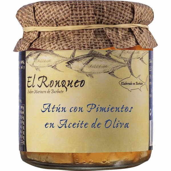 Atún con Pimientos en Aceite de Oliva
