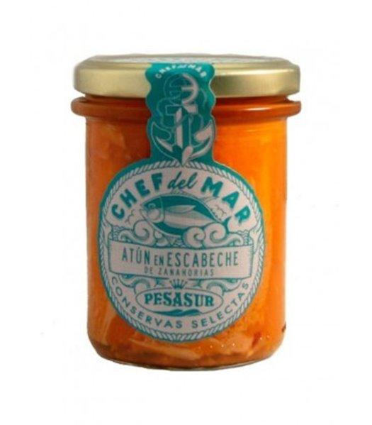 Atún en escabeche de zanahoria Chef del Mar