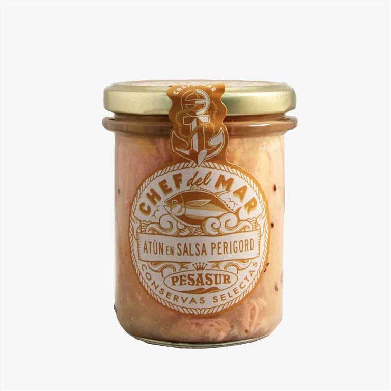 Atún en salsa Perigord 195 g Pesasur