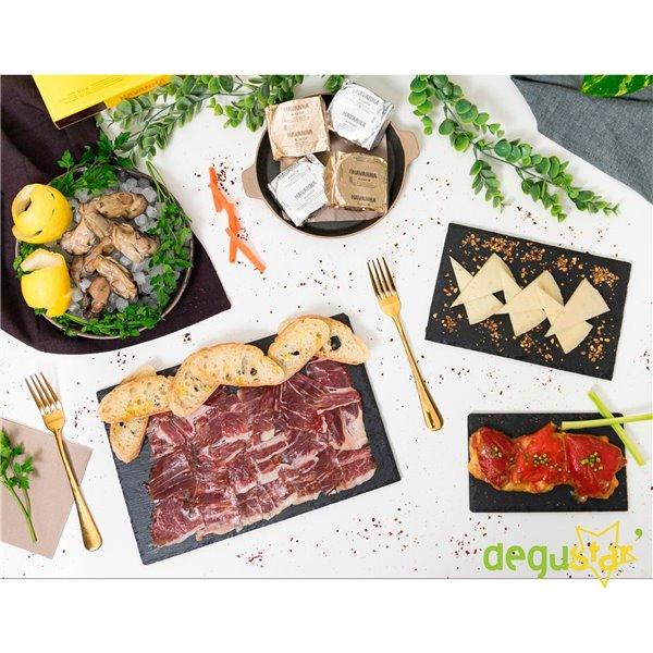 Auténtica Cena Gourmet para 4 Personas
