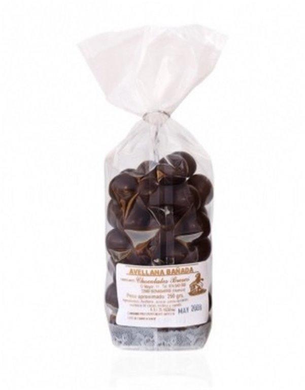 Avellanas con chocolate Brescó, 1 ud
