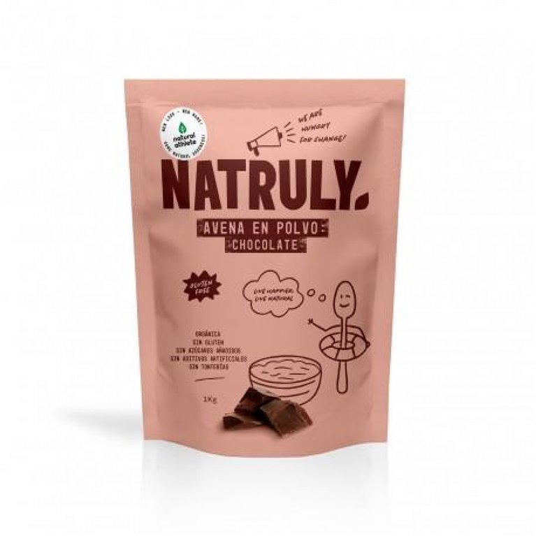 Avena Chocolate en Polvo Sin Gluten Bio 500g