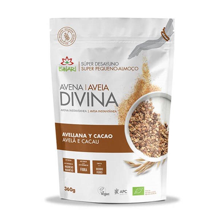 Avena Divina Avellana y Cacao Sin Gluten Bio 360g