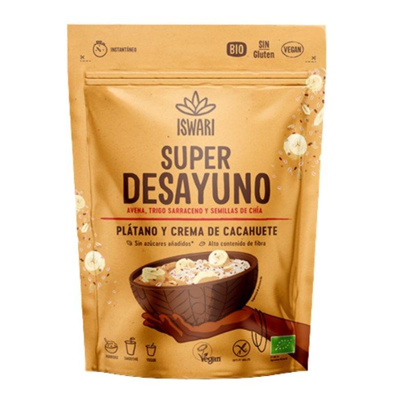Avena Divina Cacahuete y Plátano Sin Gluten Bio 360g