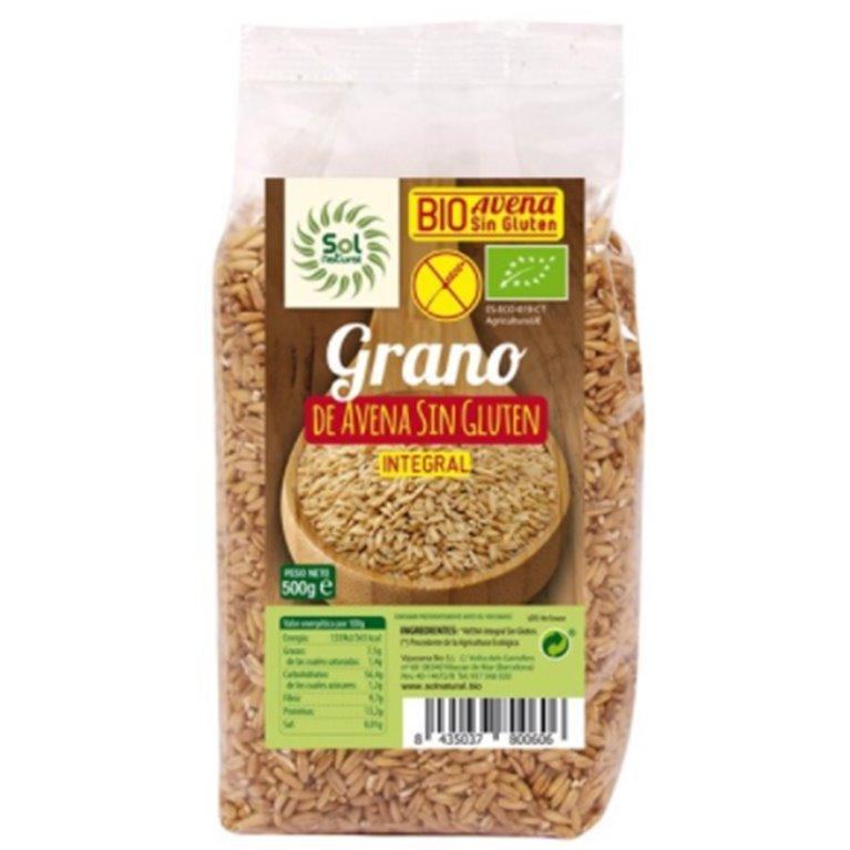 Avena Integral Sin Gluten Bio 500g, 1 ud