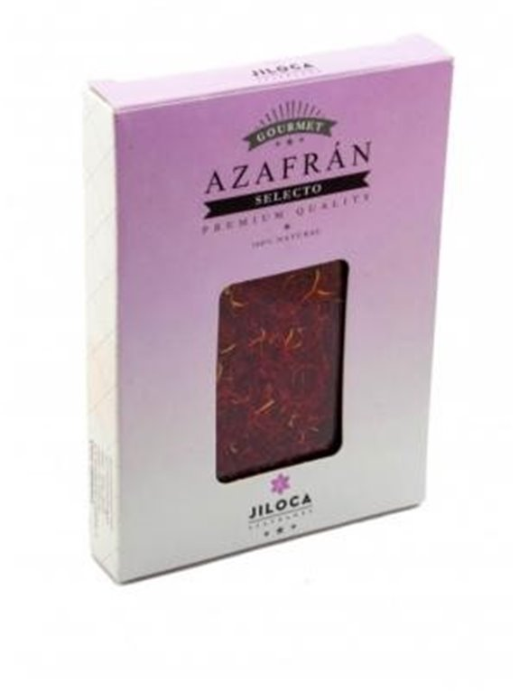 Azafrán selecto 0.50gr caja retractilada Azafranes Jiloca
