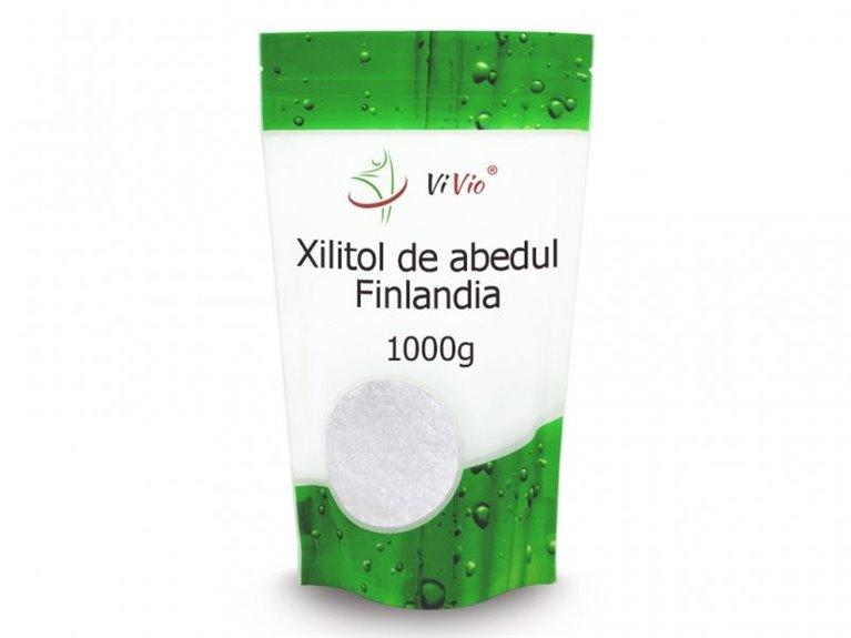 Azúcar de abedul Finlandia (xilitol) 1000g, 1 ud