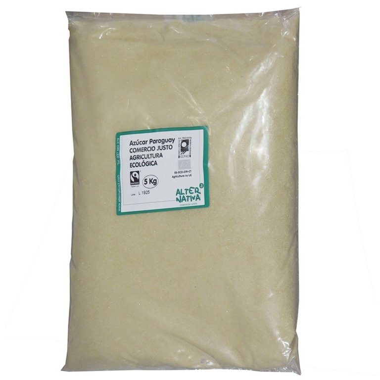 Golden Light Bio Fairtrade Wholemeal Cane Sugar 5kg