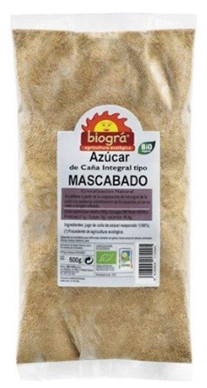 Azúcar de Caña Integral Tipo Mascabado Bio 500g