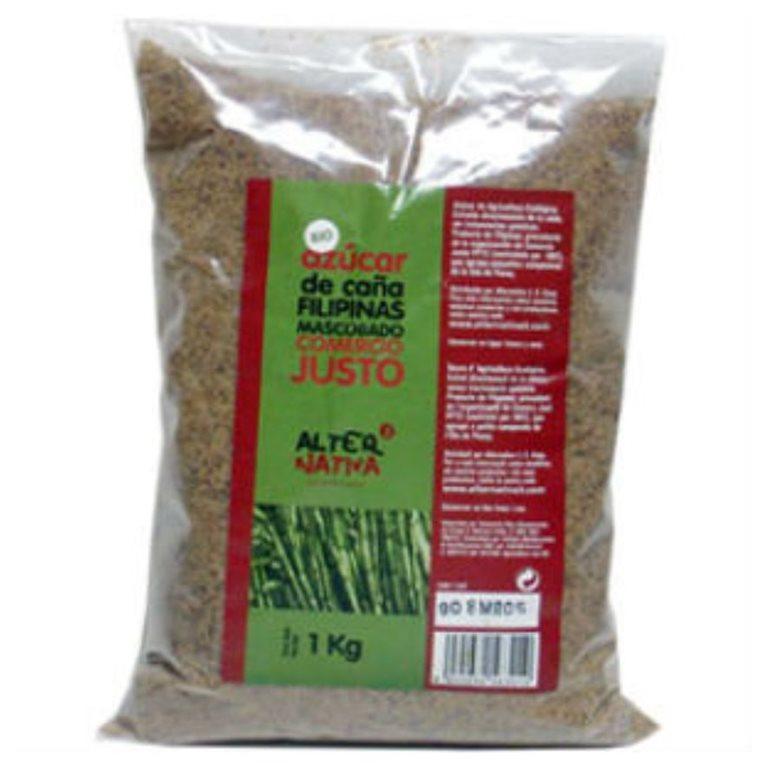 Azúcar de Caña Mascobado Bio Fairtrade 1kg
