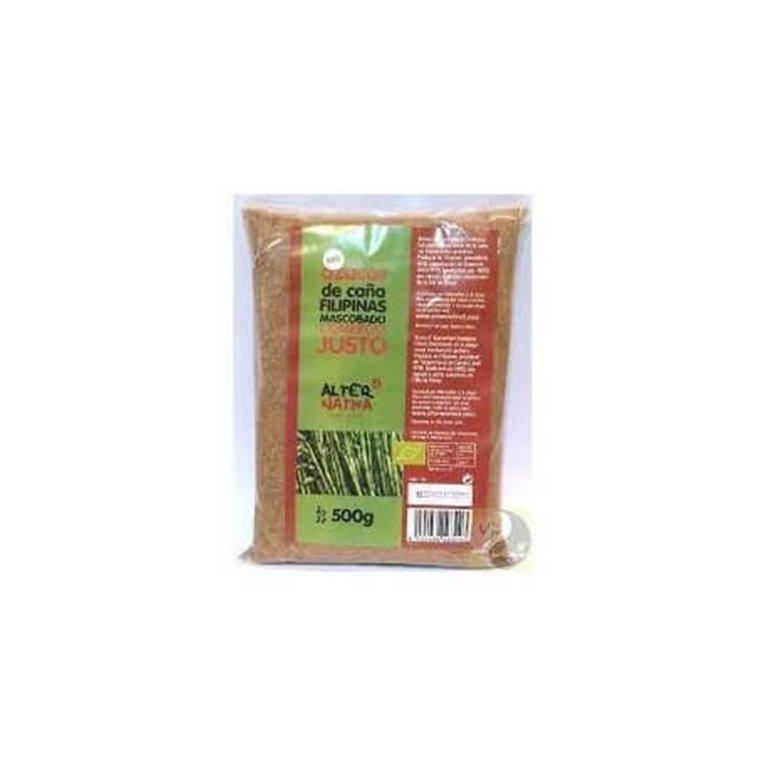 Azúcar de caña Mascobado, 500 gr