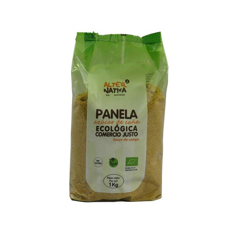 Azúcar de caña panela bio Comercio Justo 1kg Alternativa3