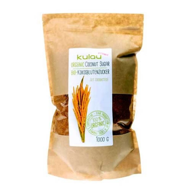 Azúcar de coco 1 kg  - Kulau