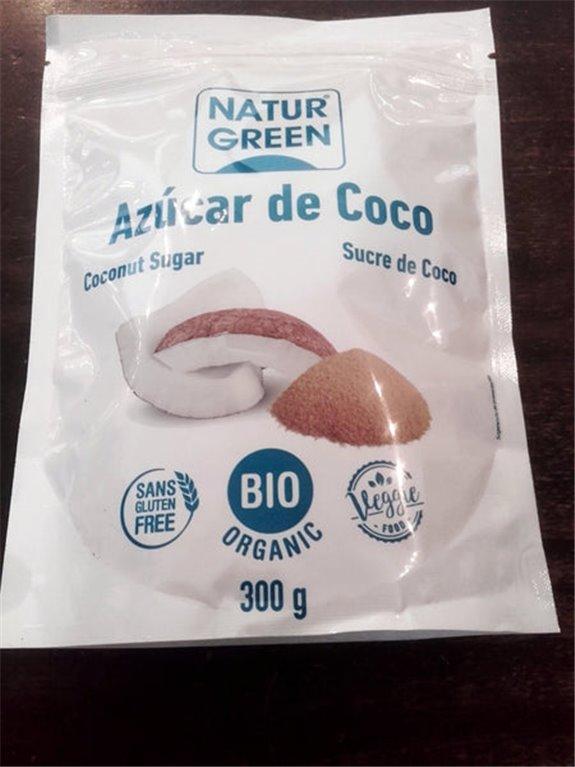 Azúcar de coco 300g, 1 ud