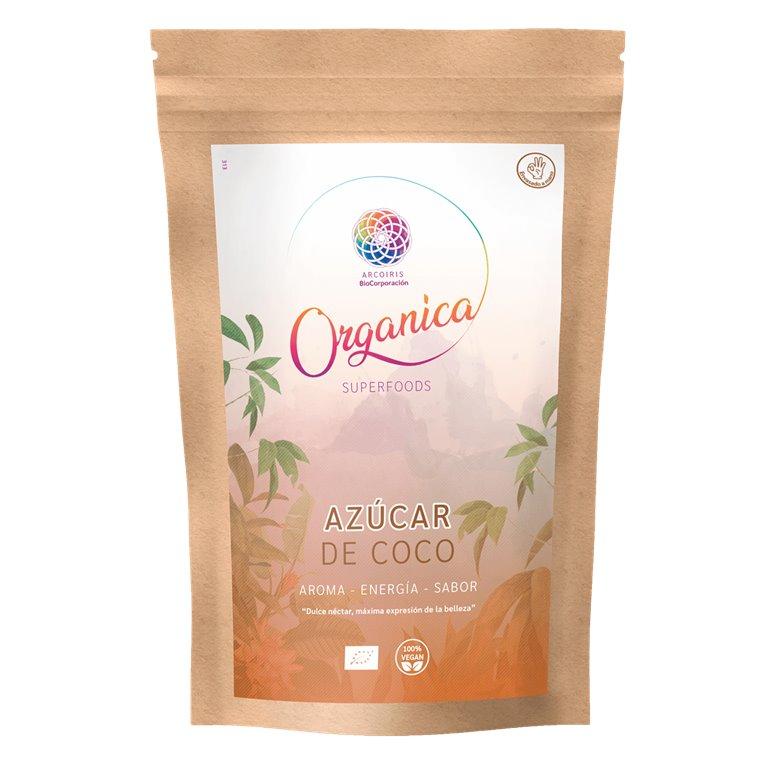 Azúcar de coco ecológico, 250 gr