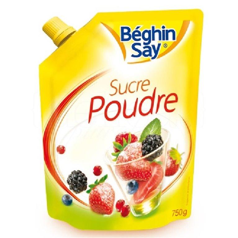 Azúcar en polvo 750gr. Béghin Say. 6un., 1 ud
