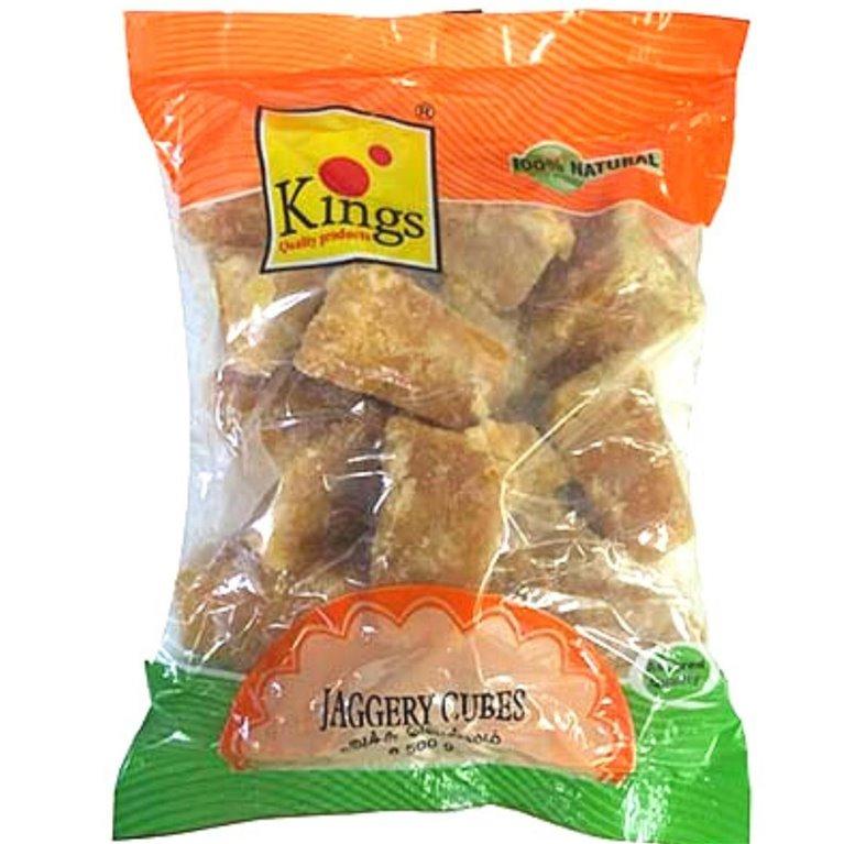 Azúcar Integral Puro de Caña en cubos (Panela) | Cane Sugar Jaggery Cubes | Goor Cubes 500g