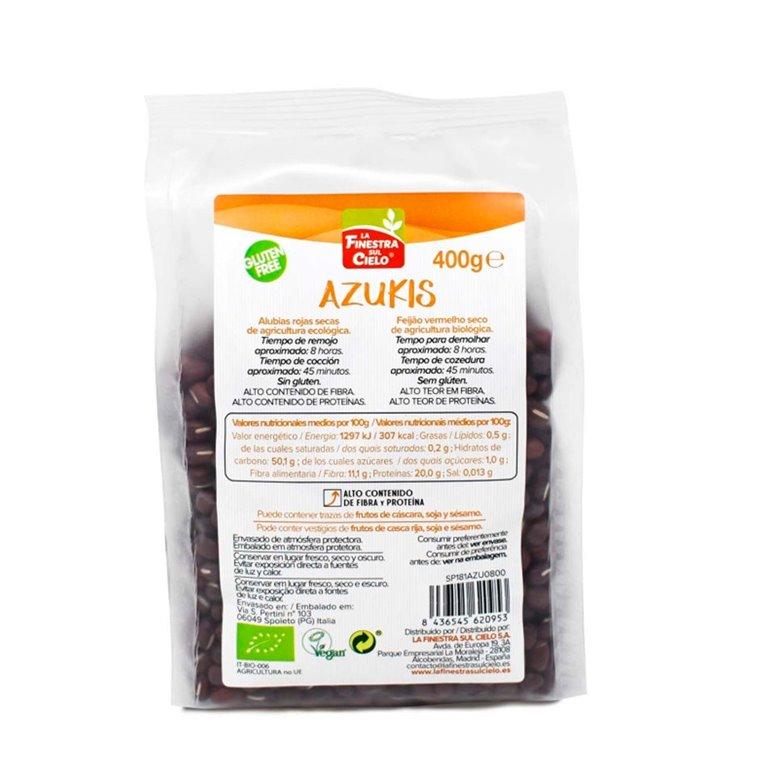 Azukis Dried Red Kidney Beans Bio 400g