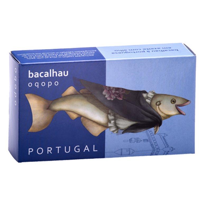 Bacalao a la portuguesa con aceite y ajo