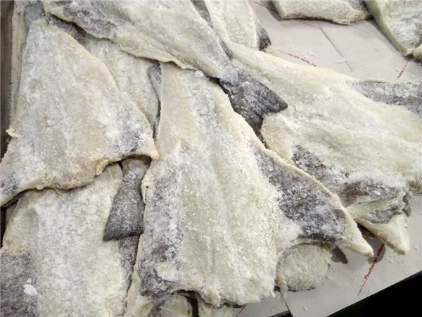 Bacalao Salado (€/Kilo)