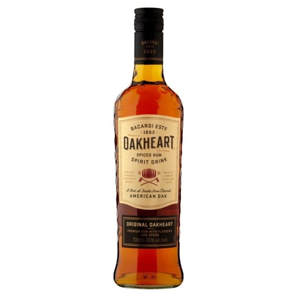 BACARDI OAKHEART -SPICED 0,70 L.